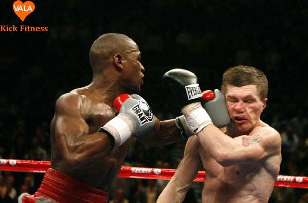 tập kick boxing